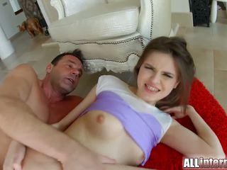 morena, sexo anal, caucásico