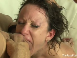 Jennifer White gets her face covered in cum