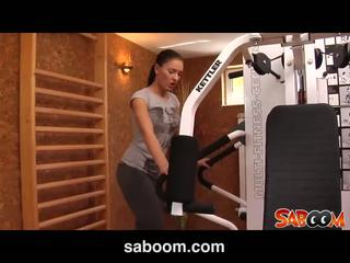 Honey Demon in a workout fuck