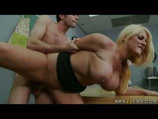 nejžhavější blondýnky horký, horký anus, nový velká prsa