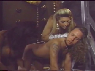 Busty Mistress Has Fun with Her Slaves, Porn fa