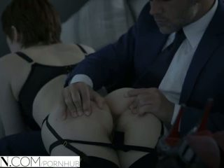 VIXEN Beautiful Redhead Bree Daniels Fucked By Sugar Daddy - Porn Video 541