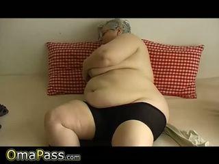 老人, おばあちゃん, 脂肪
