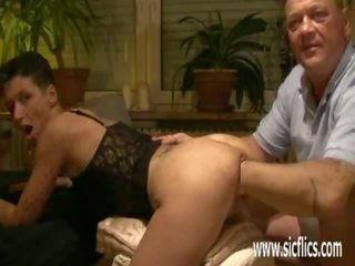 Brutally Fisting His Wifes Cavernous Loose Pussy: Porn 53
