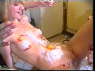 Chaud randy poulette obtenir gode et bite baise anal et étalon getting boned par domina