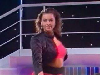 Italiano tv spettacolo - tutti frutti - kandidatin sabine