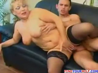 Mom and Son playing with