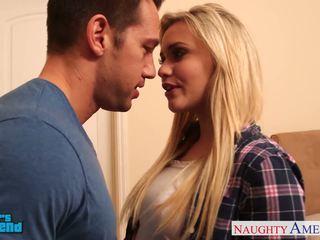 Blond babe mia malkova gets facialized