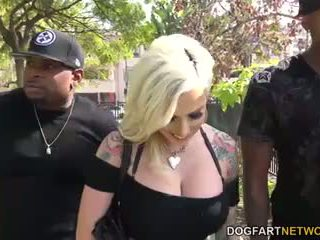 Vyxen Steel Gets Her Ass Violated By Black Men