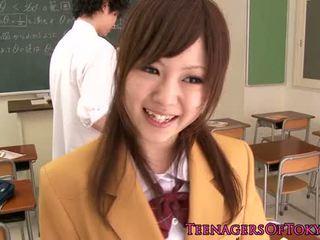 mignon, jeune, japonais