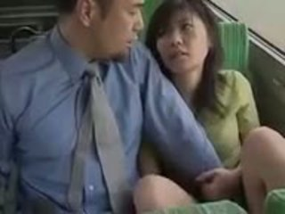 the bus was so hot - japanese bus 11 - lovers