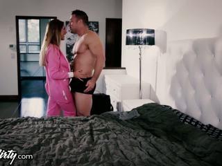 brunette check, oral sex fun, vaginal sex