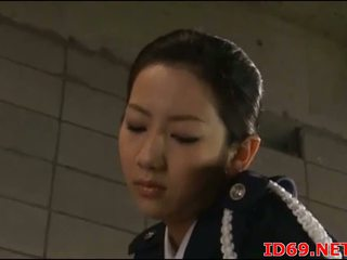 Japanese AV Model in her stockings