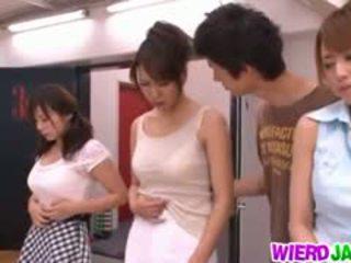 japanese, group sex free, blowjob