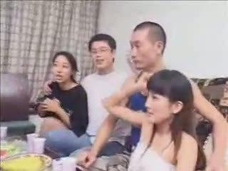 seks grupowy, żona, haporn, chiński