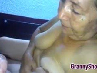 Latin Grandma Sucks Cock Point Of View