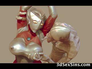 3d aliens и monsters майната момичета!