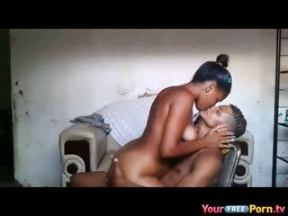 African Teenagers Homemade Sextape