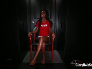 Black girl sucks cocks with her friend