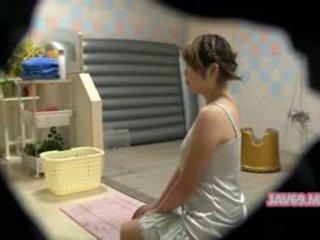 Bela hooters coreana gaja having sexo
