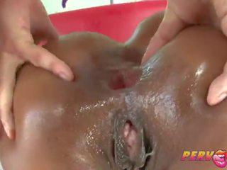 licking, gape, mike adriano