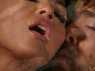 Busty asian babe Adrianna Luna smashed