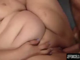 Cute and chubby bbw Alexxxis Allure swallowing cum