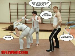 Kung fu guys 3d đồng tính phim hoạt hình animated comics