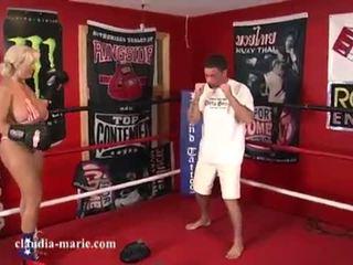 Claudia marie punching bags <span class=duration>- 13 min</span>