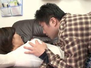 ड्रंक जपानीस मां gets करें द्वारा उसकी बोए