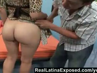Reallatinaexposed - Kinky Hubby Watches Wife Getting a Pro S Load Video