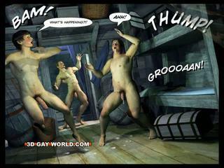 Adventures de cabin b-y al 3-lea homosexual lume comics