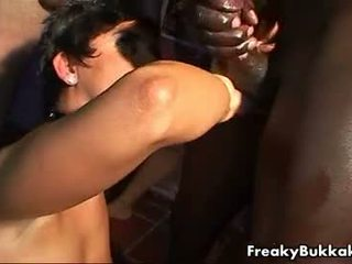Girl From Spain Loves Swallowing Cum In This Bukka