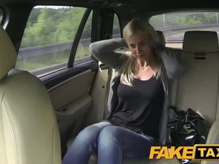 Fake Taxi Big tits and great curvy body sucks dick