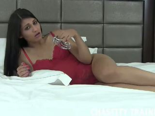 Senin deli olduğunu şimdi benim özellik, ücretsiz chastity trainer kaza porn