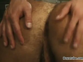Muscled studs rimming and fucking