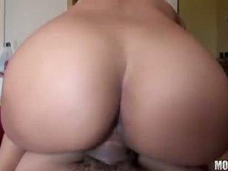 κολπική sex γεμάτος, καυκάσιος Καυτά, πραγματικός μεγάλα βυζιά