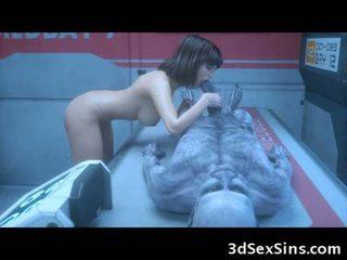 ザ· 3d ゾンビ sexperiment!