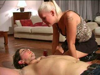 spitting dominatrice: gratuit bdsm porno vidéo e1
