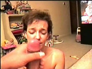 Amateur unwanted facial slow motion cumpilation