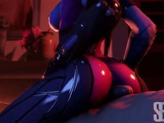 WidowMaker in Overwatch have sex