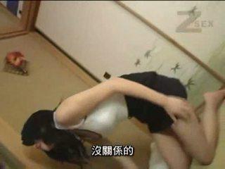 japoński, pussyfucking, obciąganie, wytryski