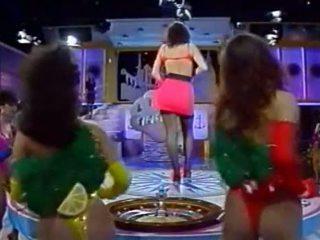 이탈리아의 tv 표시 - tutti frutti - kandidatin sabine