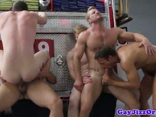 groupsex, gay, mišice
