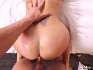 Hot horny tan MILF fucks anal <span class=duration>- 13 min</span>