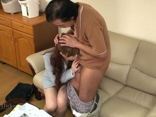 Hot Tutor Creampie (Uncensored JAV)
