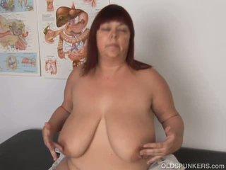 Super Sexy Big Tits Mature BBW Fucks Her Soaking Wet.