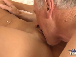 Merry Fucking Christmas Super-hot Blonde Old Cumshot.