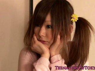귀여운, 젊은, 일본의