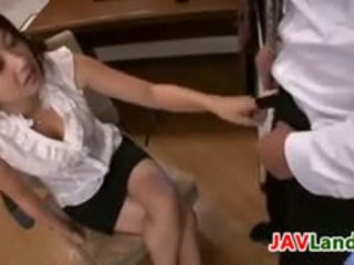 Sexy Japanese Mother Gives A Handjob